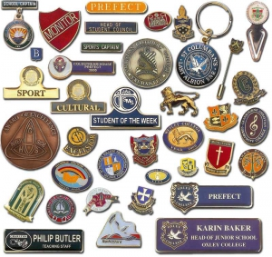 School Badges, Name Badges, Lapel Pins